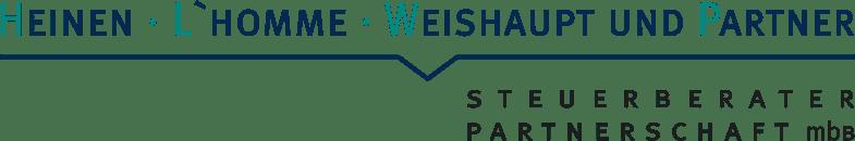 Logo von HEINEN · L ´ HOMME · WEISHAUPT UND PARTNER STEUERBERATER PARTNERSCHAFT mbB